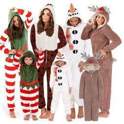 1Onesie Matching Mother & Daughter Onezee Christmas Fleece P