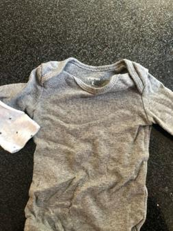 3 Months Baby Onesies Long Sleeve Boy LOT OF 2