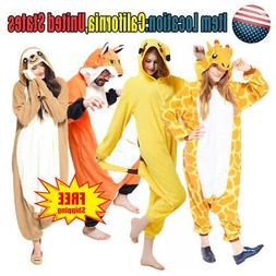 animal pajamas kigurumi cosplay pyjama adult costumes