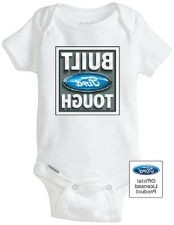 Authentic FORD Built Tough Licensed Gerber Onesie / Cute Inf