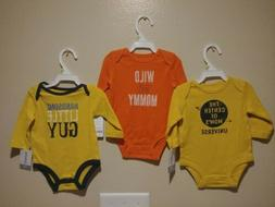 Baby Boy Clothes 3 Set 3 Months Carter's Onesies Outfits L