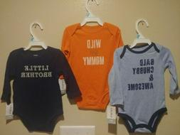 Baby Boy Clothes 3 Set 6 Months Carter's Onesies Outfits L