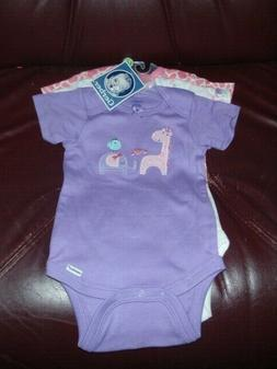 baby girl s giraffee 3 piece onesie