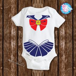 Baby Sailor Moon Onesies Costume Newborn Baby Girl Gifts Clo