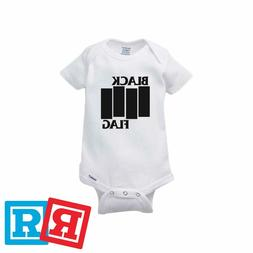 Black Flag Baby Onesie Greg Ginn Punk Rock Romper Bodysuit G