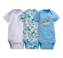 Gerber Baby Boy Dino Onesies 3 pack size 3-9 months NWT BABY