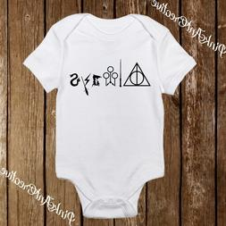 Harry Potter Always Baby Onesies Mischief Managed for Girl/B