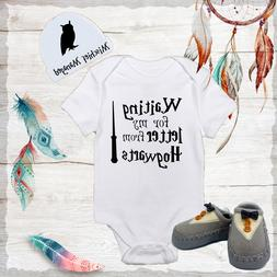 Hogwarts Harry Potter Baby Boy Clothes Onesies Hat Grey Shoe
