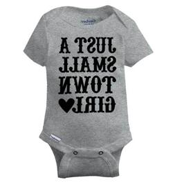 Just A Small Town Girl Gerber Onesie | Country Southern West
