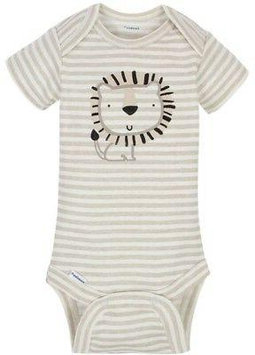 Cotton Onesies 3-Pack - LION NWT
