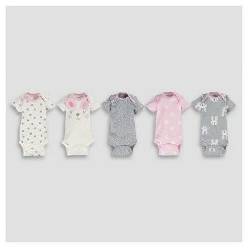Gerber Onesies Off White & GY COLORS