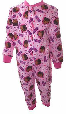 Doc McStuffins Pale Pink Girl's All in One Sleepsuit Age 1