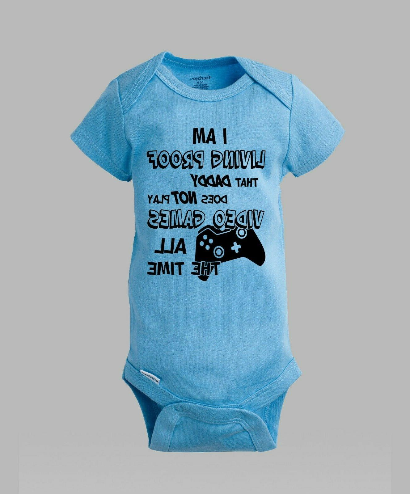 I'm Play Video All The Time Onesie Romper