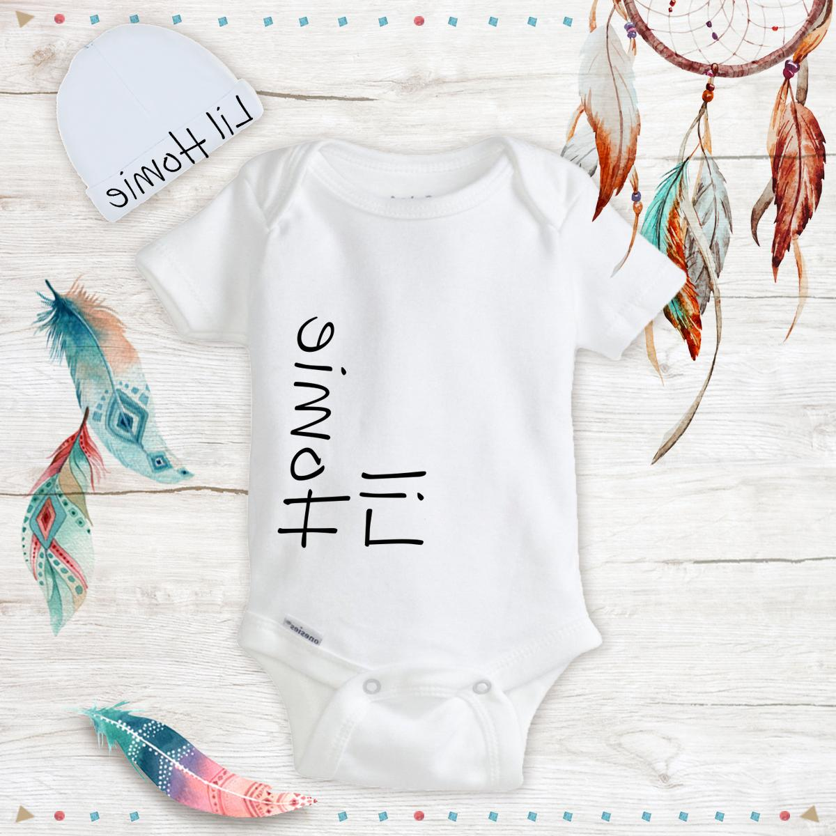 little homie baby boy clothes onesies