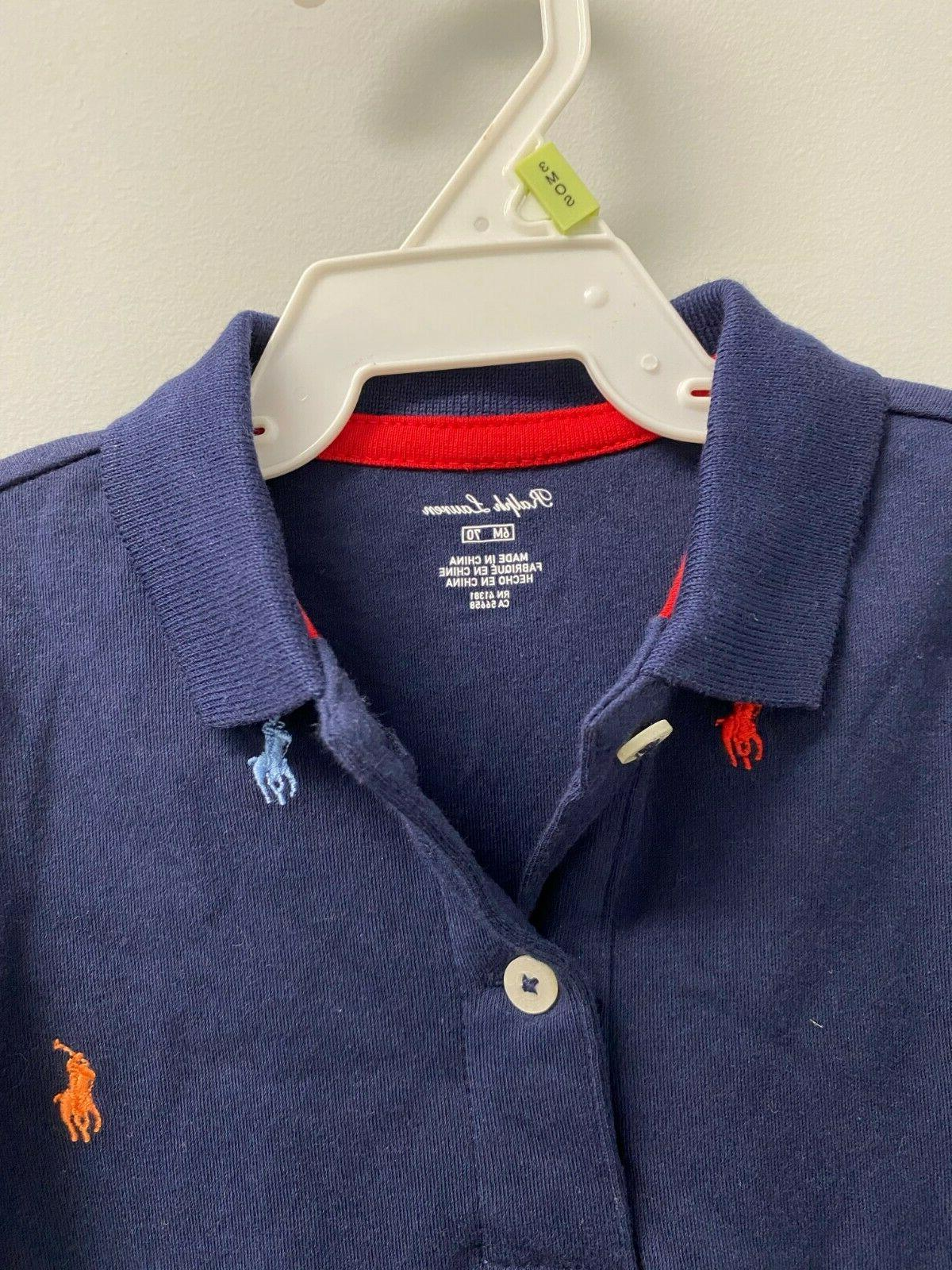 NEW Boys All over Pony Piece Coverall Navy