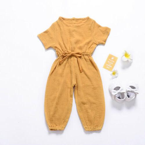 US Toddler Boys Jumpsuit Outfits