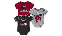 nwot miami heat boys infant baby bodysuit