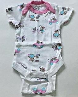 NWT Onesies brand by Gerber Cotton Girls bodysuit size 6-9 M