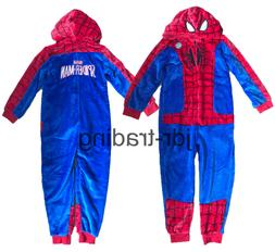 OFFICIAL MARVEL SPIDERMAN Boys Girls Kids Sleepsuit Pyjamas