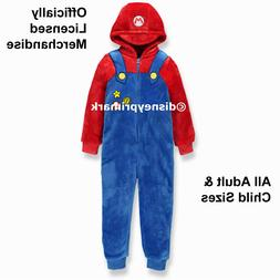 Official SUPER MARIO ONESY Boys / Mens / Girls PJ Nintendo C