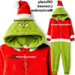 OFFICIAL THE GRINCH ONESY Boys Girls Christmas Child Pyjama