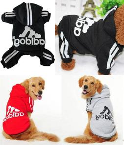 Puppy Small to Large Pet Dog Cat Winter Soft Clothes Jacket