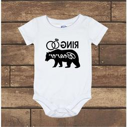 Ring Bearer Wedding Gerber Baby Onesie Newborn - 24M