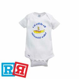 The Beatles Baby Onesie Yellow Submarine Bodysuit Unisex Ger