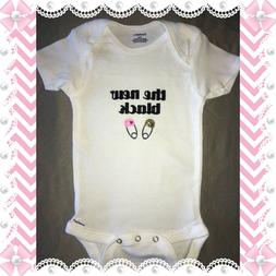 the new black Custom Gerber Cute Personalized Baby Shower Un