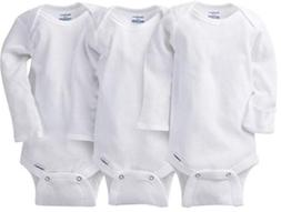 Gerber Unisex Baby, Size 0-3 Months, Organic Cotton 3 Pack L