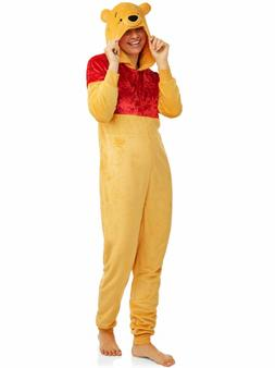 Winnie the Pooh Bear Pajamas Womens Plus Size 2X Union suit