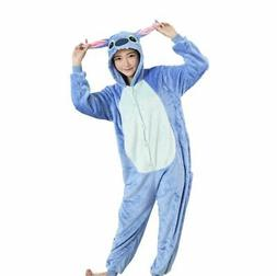 Women Men Unisex Adult Onesie0 Animal Stitch Kigurumi Pajama