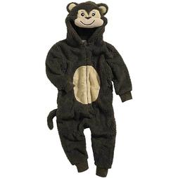 World Book Day Monkey 1Onesie Onezi Boy Child Fleece Hooded